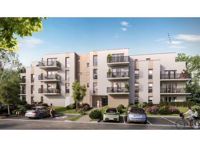 Programme immobilier neuf Cote Jardin Saran