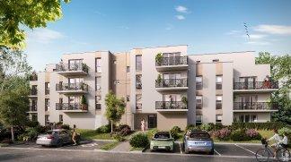 Programme immobilier loi Pinel Cote Jardin à Saran