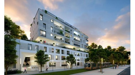 Programme immobilier loi Pinel Carre Vendome à Montpellier