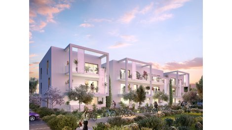 Appartement neuf Clos Sant Vicens éco-habitat à Perpignan