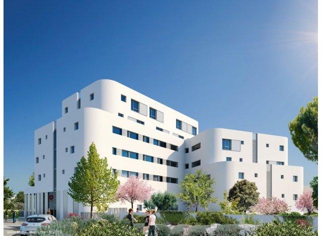 Eco habitat programme Residence Etudiants Axone Montpellier