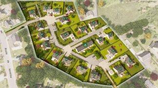 Terrain constructible à L'Hôpital Camfrout