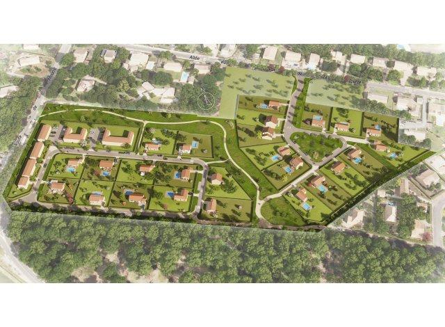 Terrain constructible à Saint-Aubin-de-Médoc