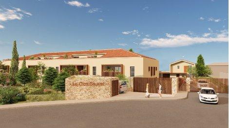 Programme immobilier loi Pinel Le Clos Sauvet à Saint-Cyr-sur-Mer