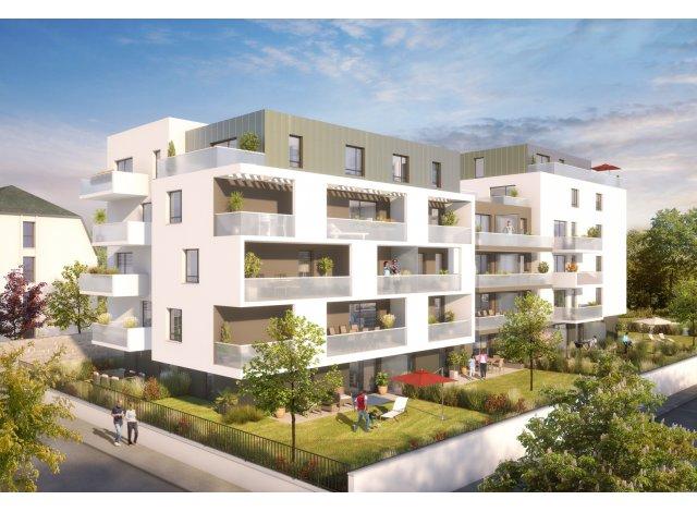 Programme immobilier loi Pinel Azur & O à Illkirch-Graffenstaden