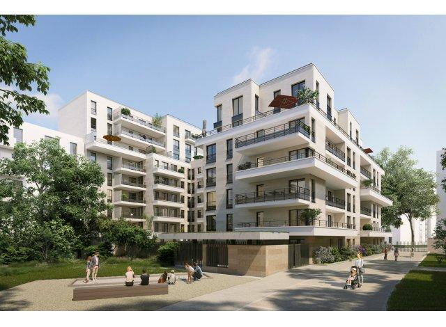 Programme immobilier loi Pinel Square des Bateliers à Clichy
