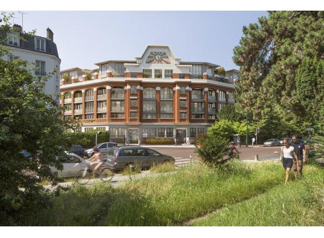 Eco habitat programme Le 50 Avenue de Gravelle Charenton-le-Pont