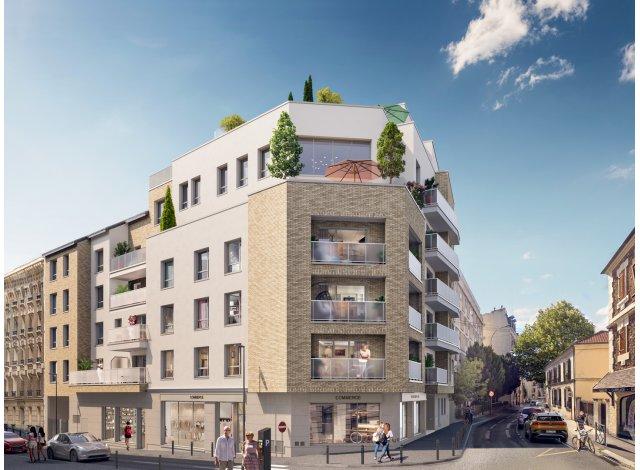 Eco habitat programme 10-12 rue des Heros Nogentais Nogent-sur-Marne