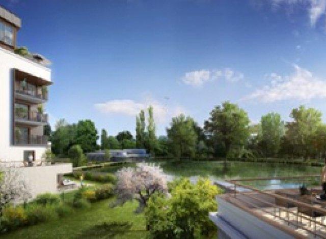 Eco habitat programme Domaine Richelieu Rueil-Malmaison