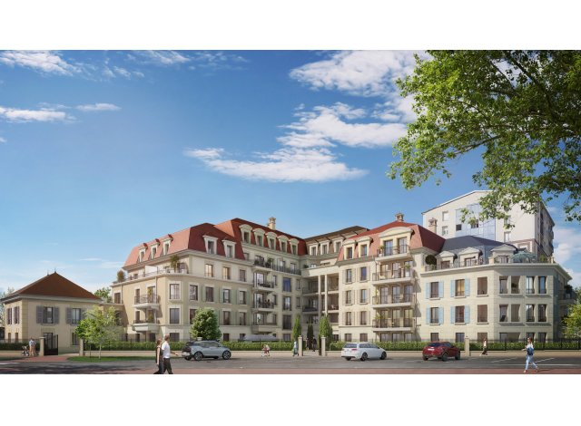 Programme immobilier loi Pinel Les Jardins Mansart à Clamart