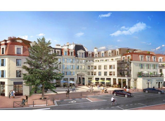 Programme immobilier loi Pinel Les Jardins Mansart Clamart à Clamart