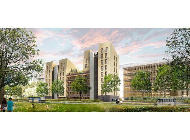 Programme immobilier loi Pinel Greenwood à Strasbourg