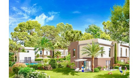 Investissement immobilier loi Pinel investissement loi Pinel Antibes Ant- 820 - Villa Contemporaine
