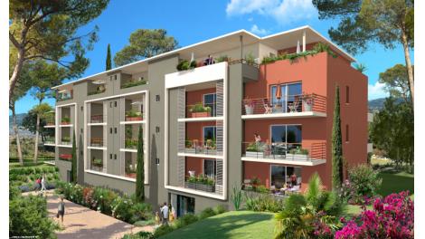 Programme immobilier loi Pinel Résidence Neuve - Fréjus (83) à Fréjus