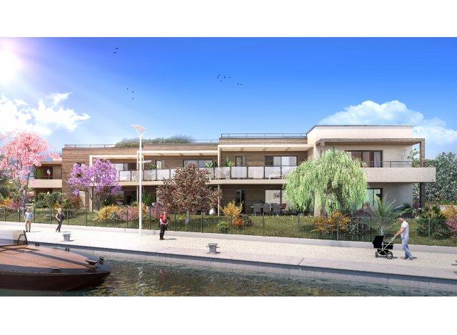 Programme immobilier loi Pinel Villa Frégate à Fréjus