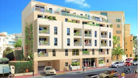 Appartement neuf Jlp-717 - Vivre en Centre Ville éco-habitat à Juan-les-Pins