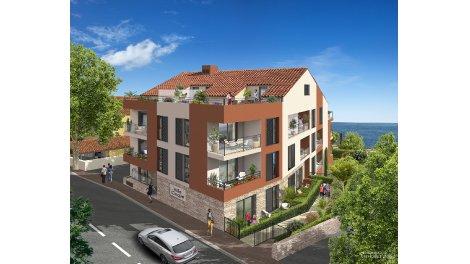Programme immobilier loi Pinel Villa Cinque - la Turbie 896 à La Turbie