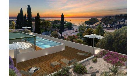 Écohabitat immobilier neuf éco-habitat Résidence Neuve 774 - Vue Mer - les Issambres (83)