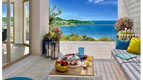 Écohabitat immobilier neuf éco-habitat Nice Vue Mer - 762 à Nice