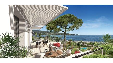 Programme immobilier loi Pinel Sainte-Maxime - Vue Mer - 666 à Sainte-Maxime