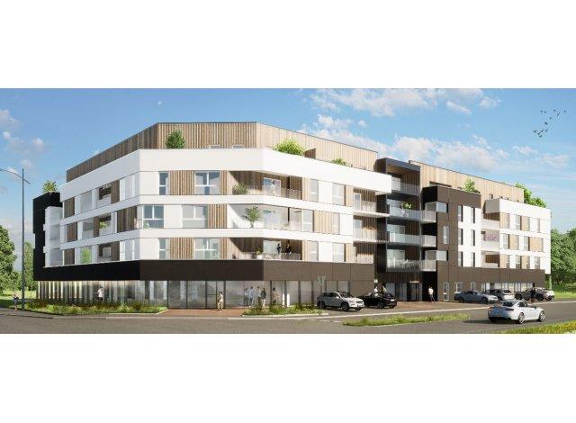 Programme immobilier loi Pinel Les Portes du Chapitre 2 à Bihorel