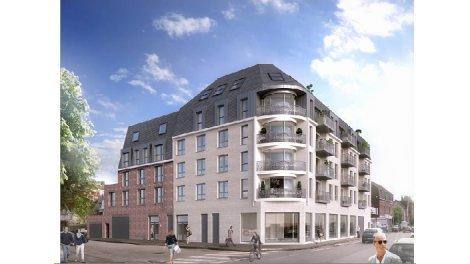 Programme immobilier neuf éco-habitat La Villa Constance à Rouen