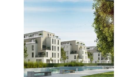 Eco habitat programme Cityciel Villeurbanne