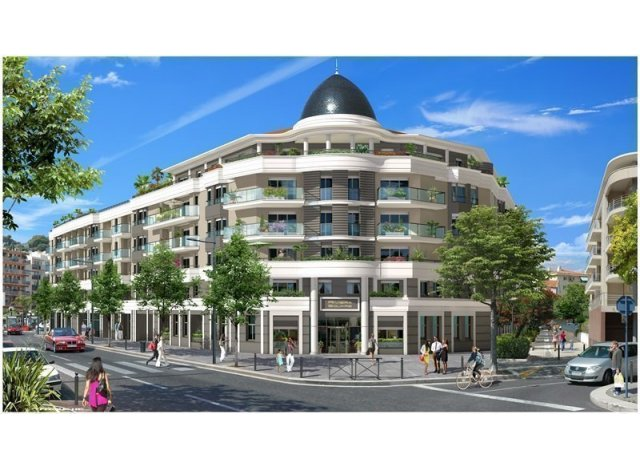 Programme immobilier neuf Riviera Square TR2 à Cagnes-sur-Mer
