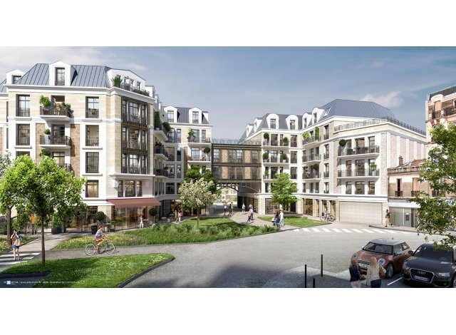 Programme immobilier neuf Convergence Clamart