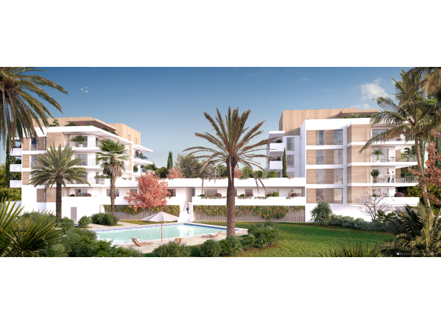 Programme immobilier neuf La Closerie à Antibes