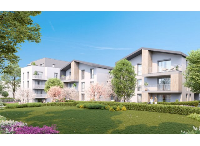 Programme immobilier loi Pinel Quiétude à Vénissieux