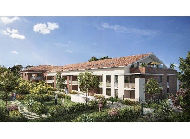 Programme immobilier loi Pinel Residence Villa Capella à Plaisance-du-Touch