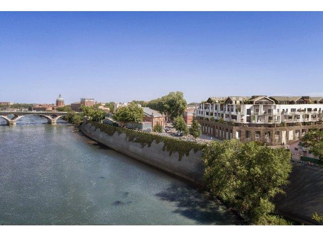 Éco habitat éco-habitat Residence les Belles Rives à Toulouse