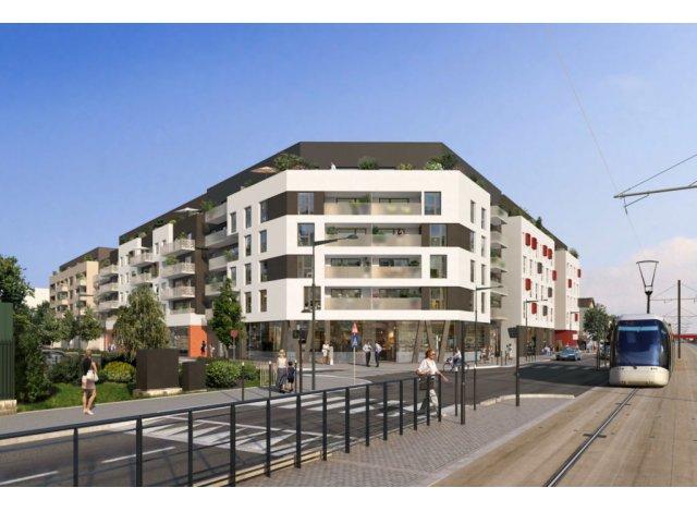 Appartement neuf Les Balcons d'Opaline éco-habitat à Pierrefitte-sur-Seine