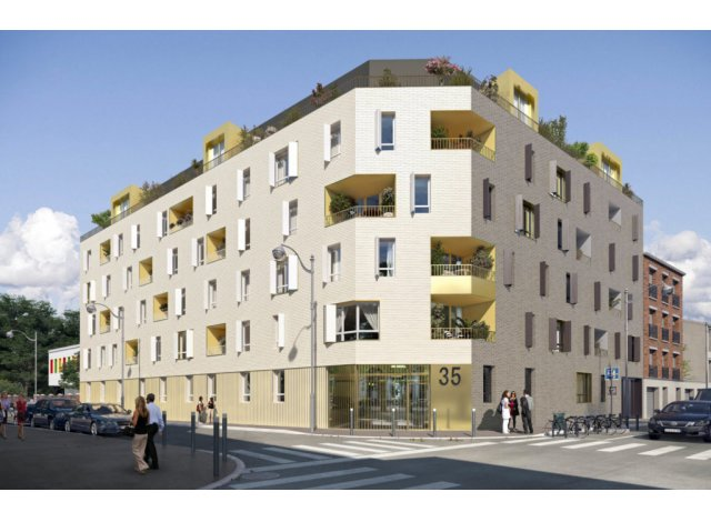 Programme immobilier neuf Square et Jardin