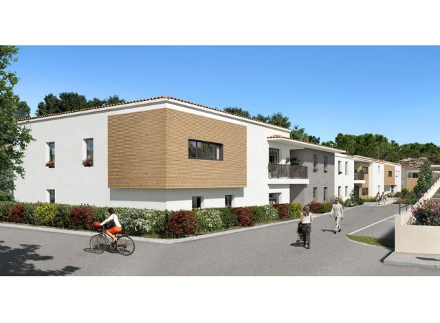 Programme immobilier loi Pinel Le Clos des Oliviers à Castelnau-le-Lez