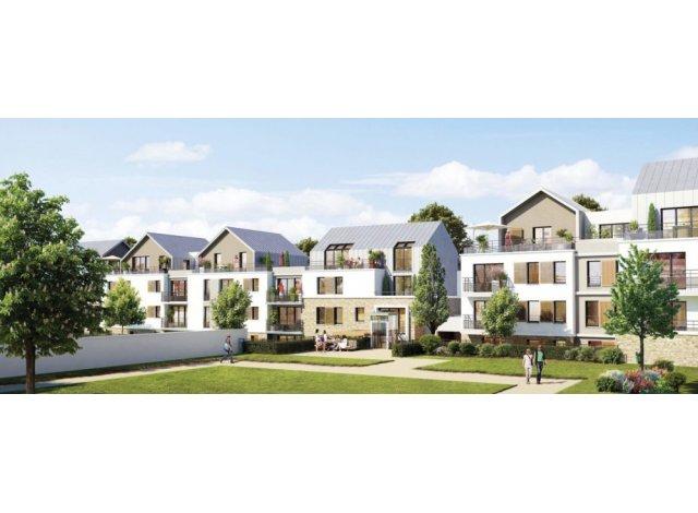 Appartement neuf Les Jardins du Jeu de Paume éco-habitat à Arpajon