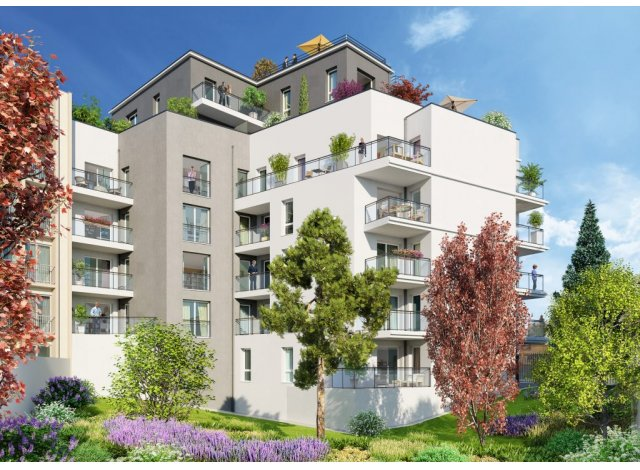 Programme immobilier neuf Oullins 6 Avenue Jean Francois Raclet