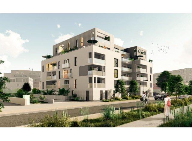 Programme immobilier neuf éco-habitat Les Hauts Romanet à Saint-Herblain