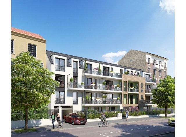 Programme immobilier loi Pinel Le Clos Saint-Louis à Villemomble