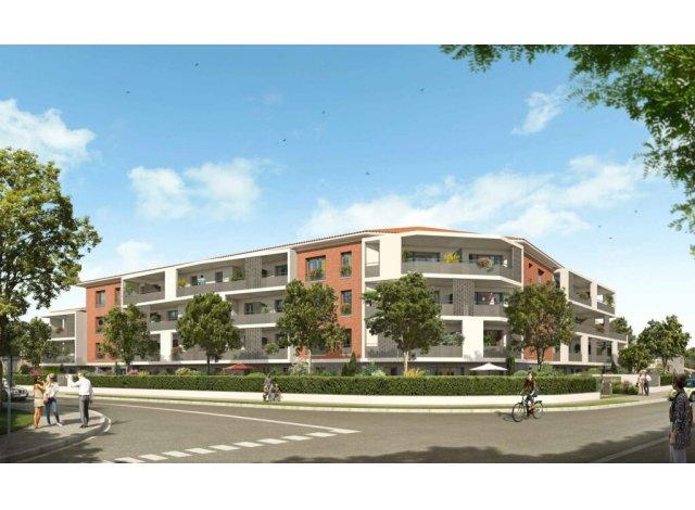 Programme immobilier loi Pinel Villa Garance à Castanet-Tolosan