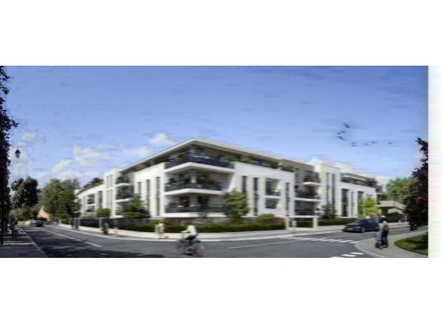 Programme immobilier neuf éco-habitat Nouveau Jour à Roissy-en-Brie
