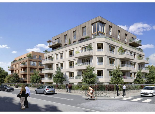Programme immobilier neuf Les Terrasses Bel Air Colombes