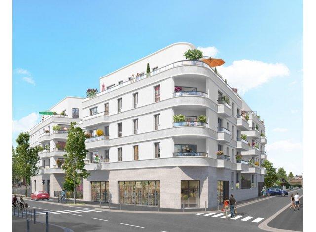 Programme immobilier loi Pinel 75 Edouard Vaillant à Bobigny