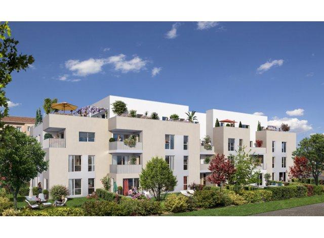 Programme immobilier neuf éco-habitat Plain'Itude à Lyon 8ème