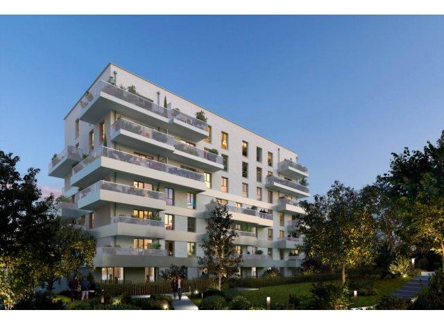 Programme immobilier neuf éco-habitat Le Domaine du Parc à Champs-sur-Marne