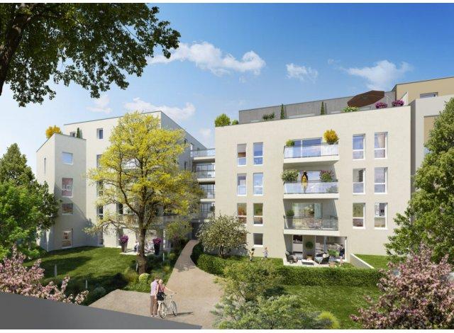 Programme immobilier neuf éco-habitat Côté 8ème à Vénissieux