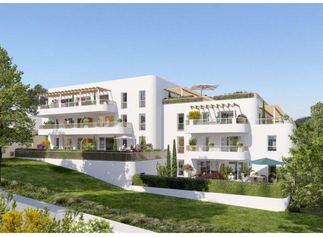 Eco habitat programme Villa Blanca Marseille 16ème