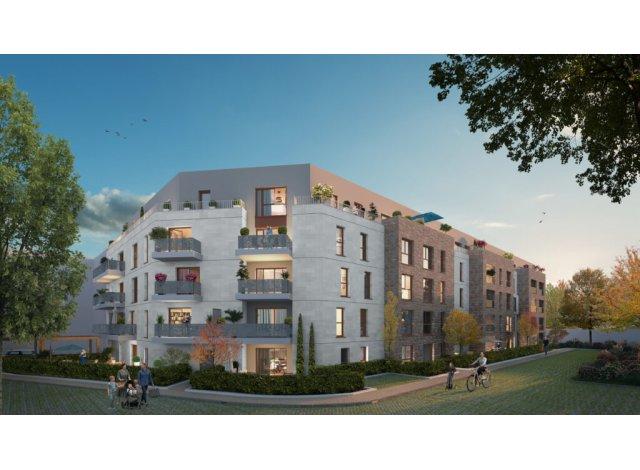 Programme immobilier loi Pinel L'Ecrin des Noyers à Aubervilliers