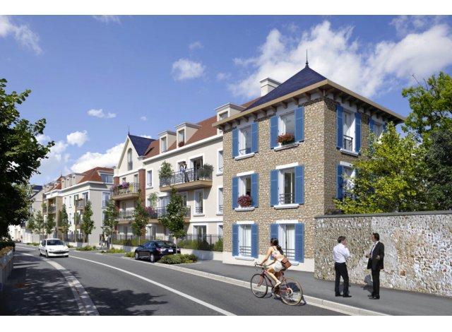 Programme immobilier loi Pinel Domaine de la Ferme du Chateau à Ballainvilliers